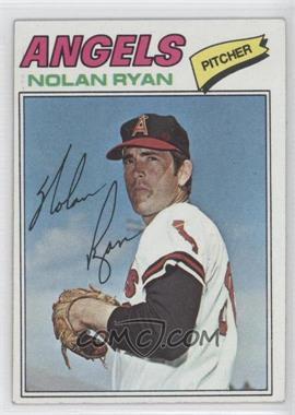1977 Topps #650 - Nolan Ryan