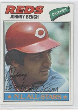 1977 Topps #70 - Johnny Bench