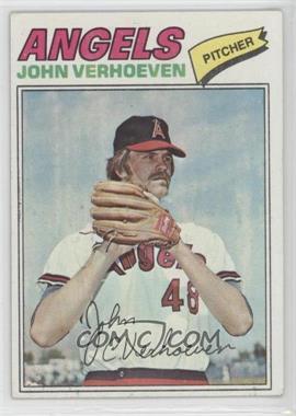 1977 Topps #91 - John Verhoeven