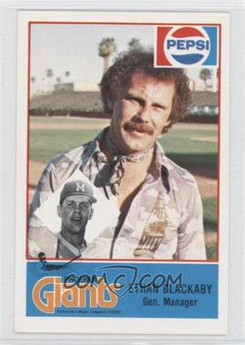 1978 Cramer Pacific Coast League #107 - Ethan Blackaby