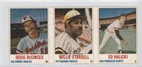 Doug DeCinces, Willie Stargell, Ed Halicki