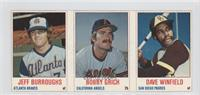 Jeff Burroughs, Bobby Grich, Dave Winfield