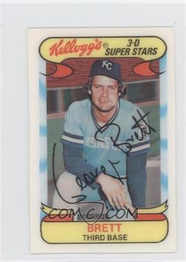 1978 Kellogg's 3-D Super Stars #6 - George Brett