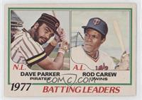 Dave Parker, Rod Carew