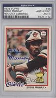 Eddie Murray [PSA/DNA Certified Auto]