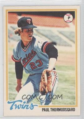 1978 O-Pee-Chee #73 - Paul Thormodsgard