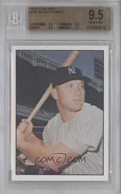 1978 TCMA The 1960's I Green Back #1978-0262 - Mickey Mantle [BGS 9.5]