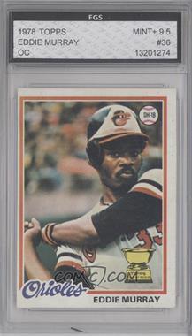 1978 Topps - [Base] #36 - Eddie Murray [ENCASED]
