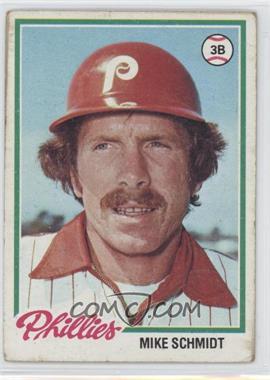 1978 Topps - [Base] #360 - Mike Schmidt