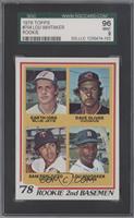78' Rookie 2nd Basemen (Garth Iorg, Dave Oliver, Sam Perlozzo, Lou Whitaker) [S…