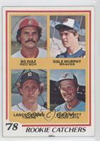 Bo Diaz, Dale Murphy, Lance Parrish, Ernie Whitt [GoodtoVG‑EX]