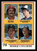Bo Diaz, Dale Murphy, Lance Parrish, Ernie Whitt [EXMT]