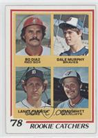Bo Diaz, Dale Murphy, Lance Parrish, Ernie Whitt