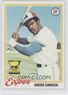 1978 Topps - [Base] #72 - Andre Dawson