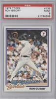 Ron Guidry [PSA 9]