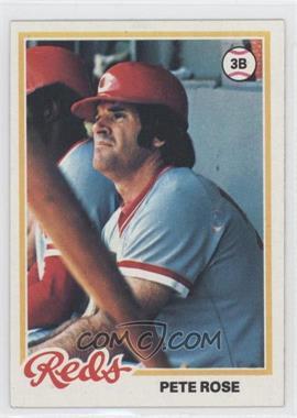 1978 Topps #20 - Pete Rose