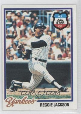 1978 Topps #200 - Reggie Jackson