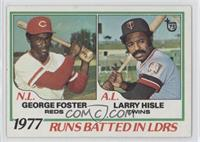 George Foster, Larry Hisle
