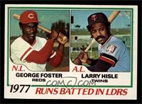 George Foster, Larry Hisle [NM]