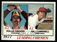 Rollie Fingers, Bill Campbell [NM]