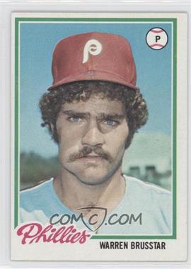 1978 Topps #297 - Warren Brusstar