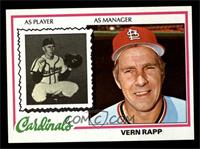 Vern Rapp [NM MT]