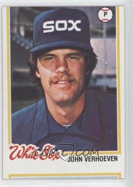 1978 Topps #329 - John Verhoeven [GoodtoVG‑EX]