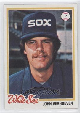 1978 Topps #329 - John Verhoeven