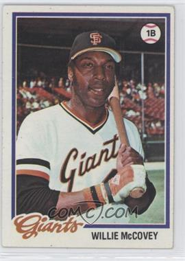 1978 Topps #34 - Willie McCovey