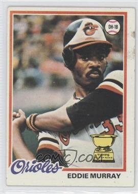 1978 Topps #36 - Eddie Murray [GoodtoVG‑EX]