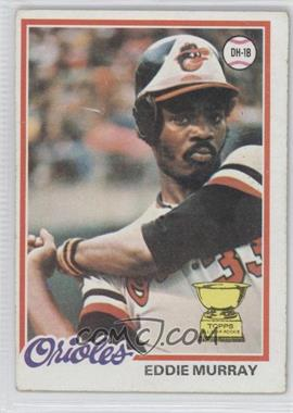 1978 Topps #36 - Eddie Murray [Good to VG‑EX]