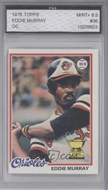 1978 Topps #36 - Eddie Murray [ENCASED]
