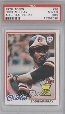 1978 Topps #36 - Eddie Murray [PSA9(OC)]