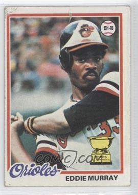 1978 Topps #36 - Eddie Murray