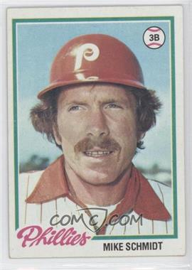 1978 Topps #360 - Mike Schmidt