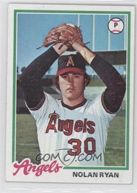 1978 Topps #400 - Nolan Ryan