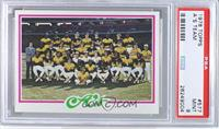 Oakland Athletics Team [PSA9]