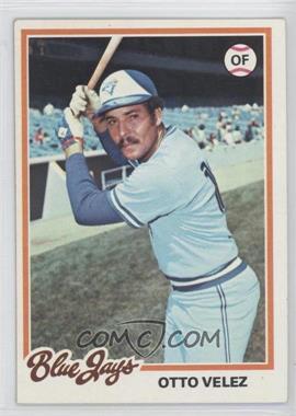 1978 Topps #59 - Otto Velez