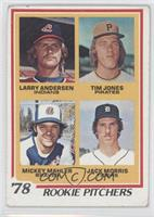 '78 Rookie Pitchers (Larry Andersen, Tim Jones, Mickey Mahler, Jack Morris) [Go…