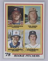 '78 Rookie Pitchers (Larry Andersen, Tim Jones, Mickey Mahler, Jack Morris) [Ne…