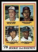 78' Rookie 2nd Basemen (Garth Iorg, Dave Oliver, Sam Perlozzo, Lou Whitaker) [N…