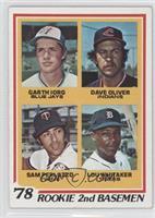 78' Rookie 2nd Basemen (Garth Iorg, Dave Oliver, Sam Perlozzo, Lou Whitaker) [G…