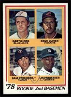 78' Rookie 2nd Basemen (Garth Iorg, Dave Oliver, Sam Perlozzo, Lou Whitaker) [E…