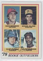 Rookie Outfielders - Dave Bergman, Miguel Dilone, Clint Hurdle, Willie Norwood