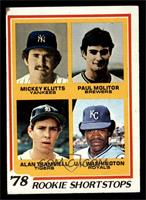 Rookie Shortstops (Paul Molitor, Alan Trammell, Mickey Kluts, U.L. Washington) …
