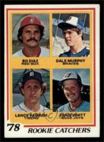 Bo Diaz, Dale Murphy, Lance Parrish, Ernie Whitt [EX]