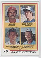 Bo Diaz, Dale Murphy, Lance Parrish, Ernie Whitt [Good to VG‑EX]
