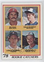Bo Diaz, Dale Murphy, Lance Parrish, Ernie Whitt [Poor to Fair]