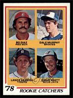 Bo Diaz, Dale Murphy, Lance Parrish, Ernie Whitt [NM]
