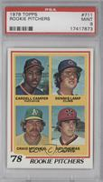 Cardell Camper, Dennis Lamp, Craig Minetto, Roy Thomas [PSA 9]